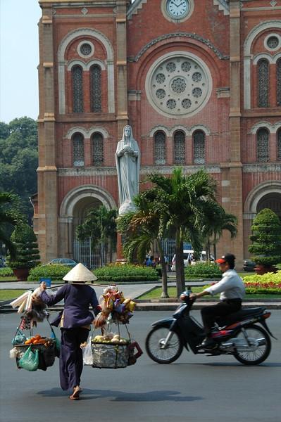 Notre Dame Church - Saigon, Vietnam