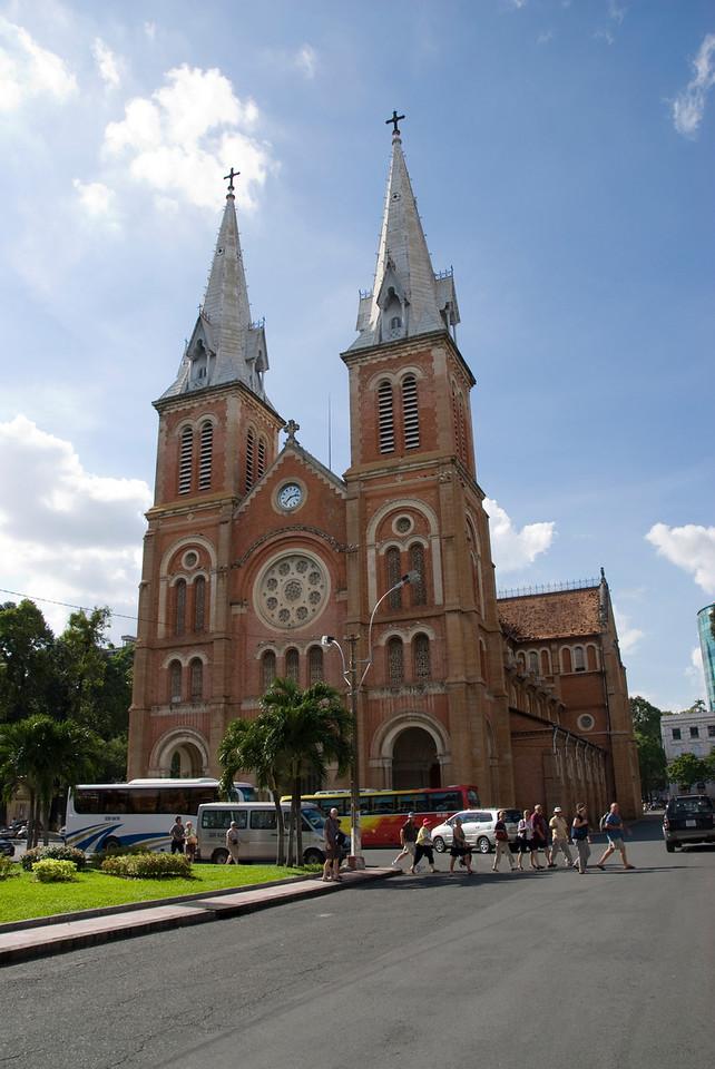 Notre Dame Cathederal in Saigon, Vietnam