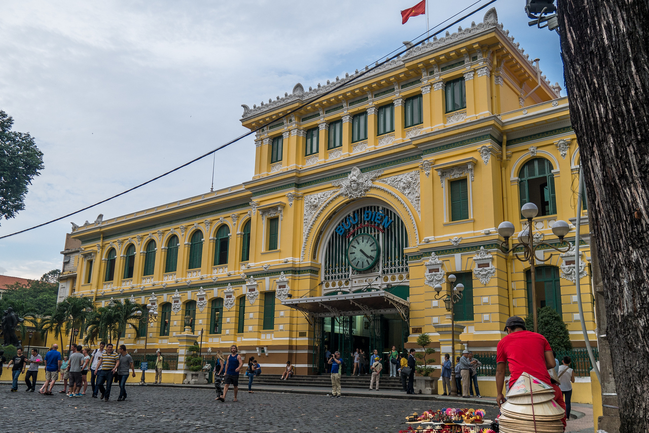 Central Post Office in Saigon