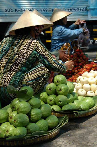 Selling Guavas - Saigon, Vietnam