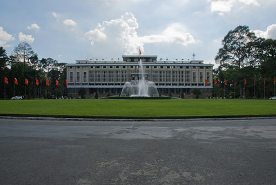 Reunification Palace in Saigon, Vietnam