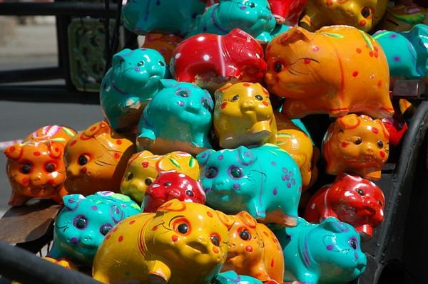 Piggy Banks for the New Year - Ho Chi Minh City, Vietnam