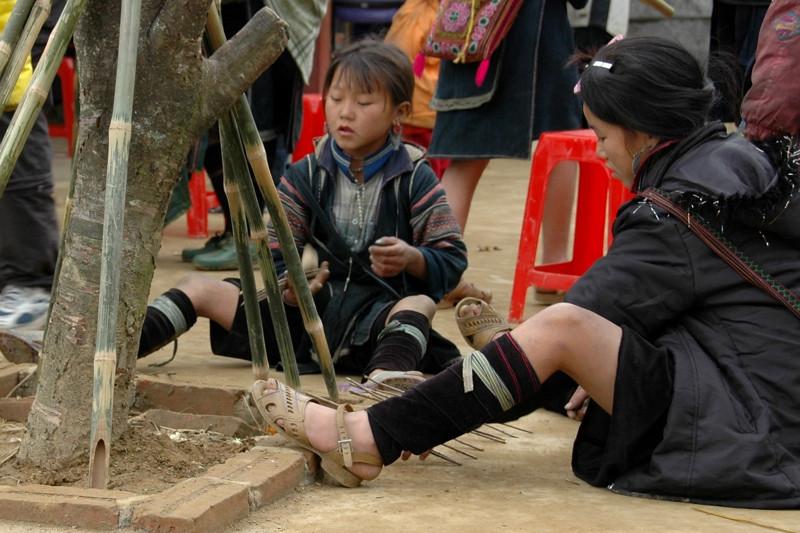 Girls Playing - Sapa, Vietnam