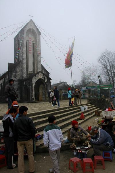 Sapa Church - Sapa Vietnam
