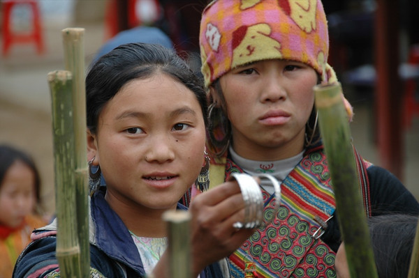 Earrings and Walking Sticks - Sapa, Vietnam