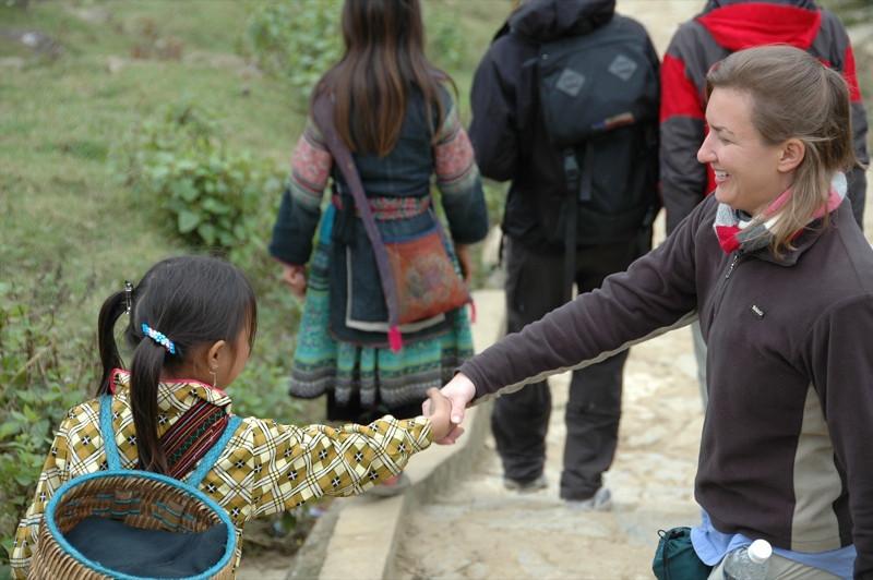 Shaking Hands - Sapa, Vietnam