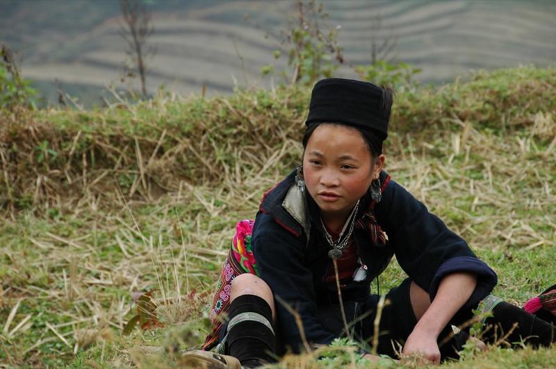 Black Hmong Girl - Sapa, Vietnam