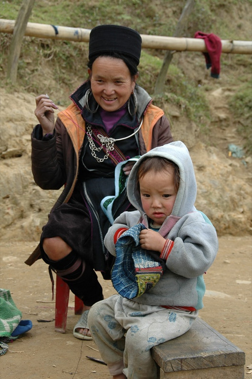 Mother and Child - Sapa, Vietnam