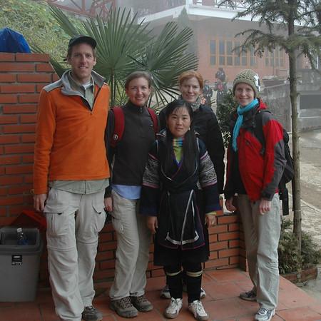 Trekking Group - Sapa, Vietnam
