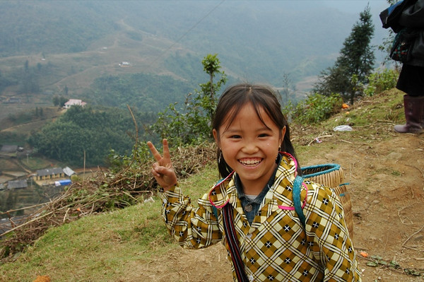 Peace Sign - Sapa, Vietnam