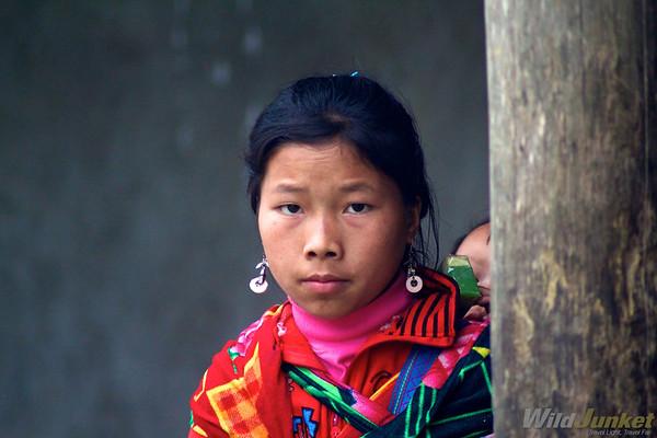 A Hmong girl