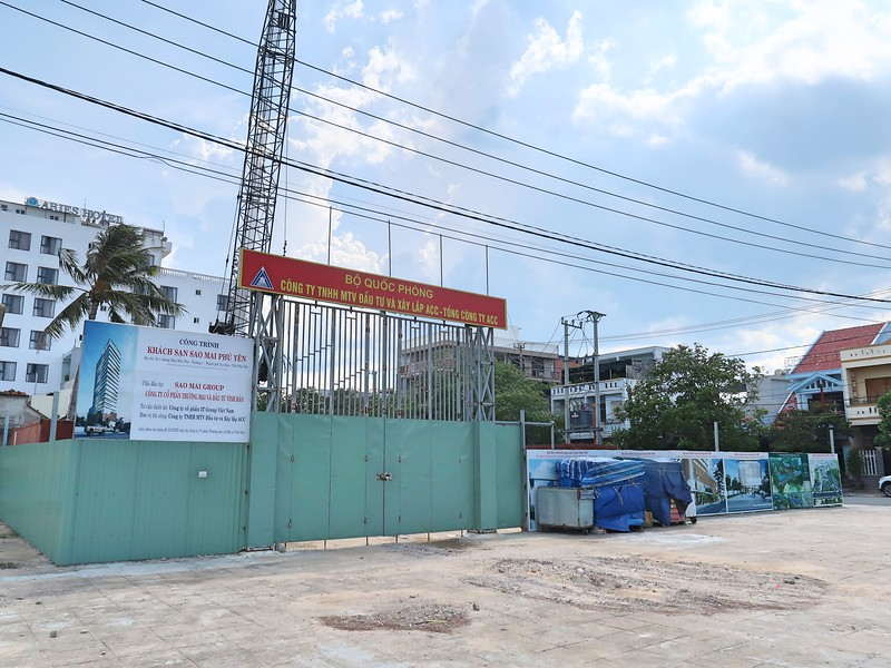 Sao Mai Phu Yen Hotel construction site