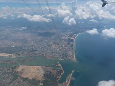 Tuy Hoa aerial view