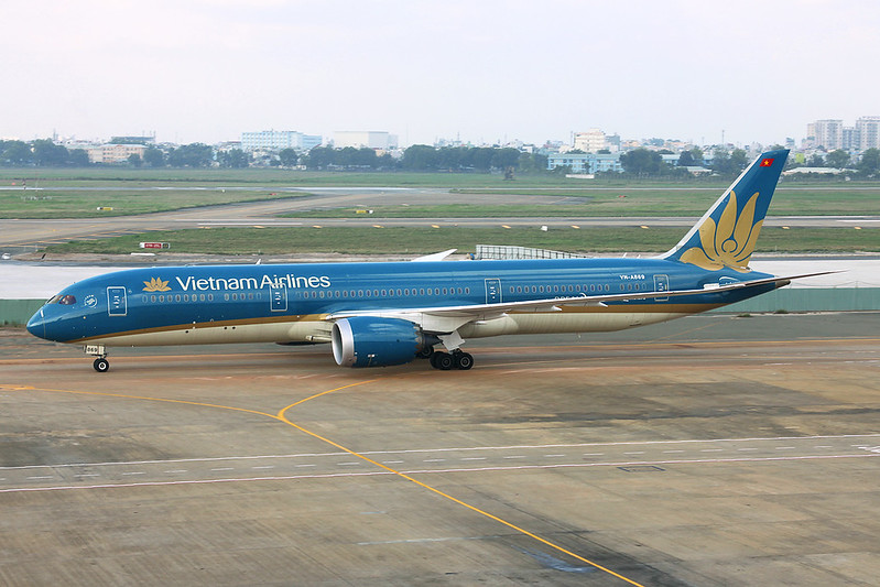 VN-A869 Boeing 787-9 c/n 38768 Ho Chi Minh City/VVTS/SGN 08-12-17