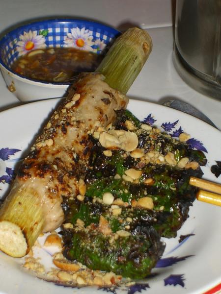 Bo La Lot ( Seasoned Beef in Betel Leaf) - Saigon, Vietnam