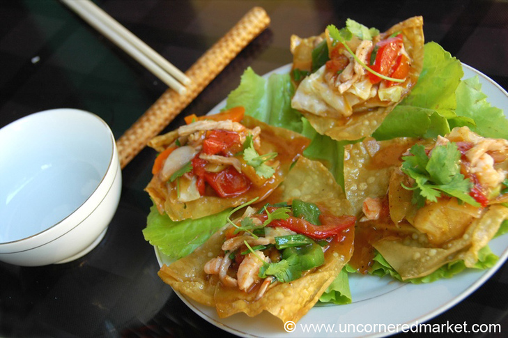 Fried Wantons - Hoi An, Vietnam