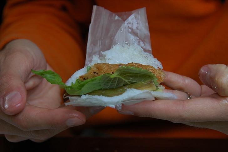 Crab, Herbs, Vermicelli Noodles - Hanoi, Vietnam