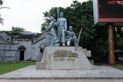 Communist statue