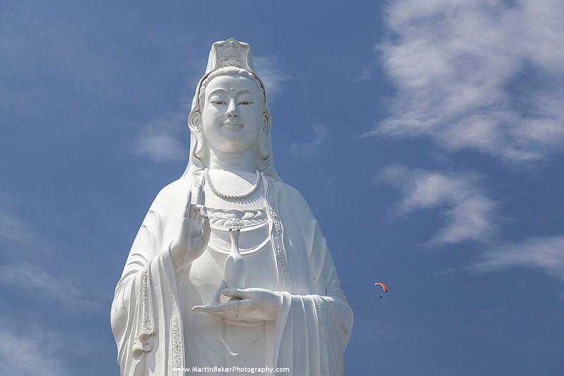 Lady Buddha, Da Nang, Vietnam.