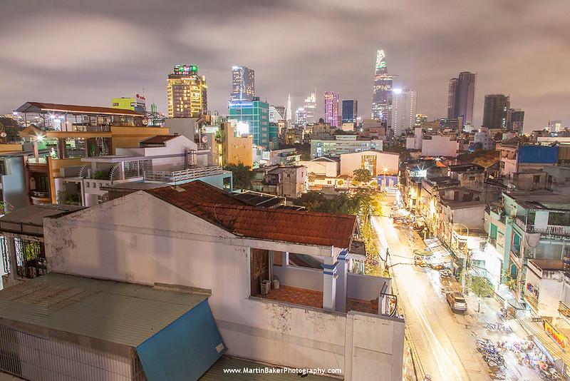 Ho Chi Minh City (Saigon) (view from Pham Ngu Lao), Vietnam.