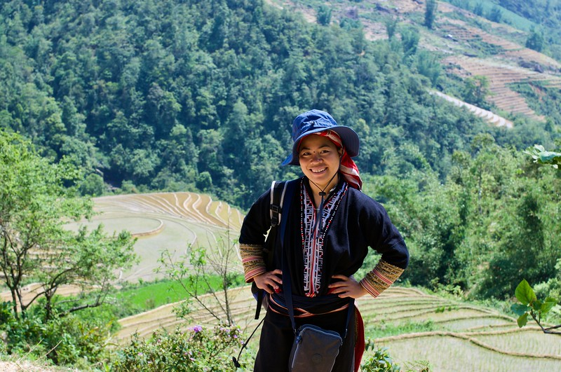 After a few hours of hiking in Sapa