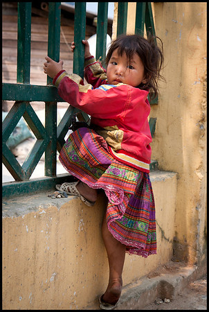 Girl in Ta Van, Sapa