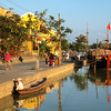 Thu Bồn River in Hoi An, Vietnam