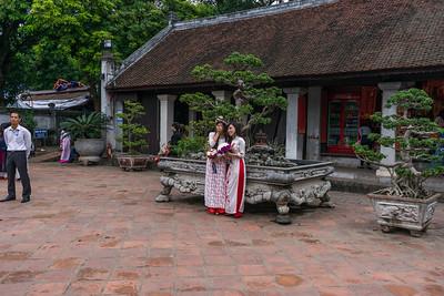 Happy graduates in Hanoi
