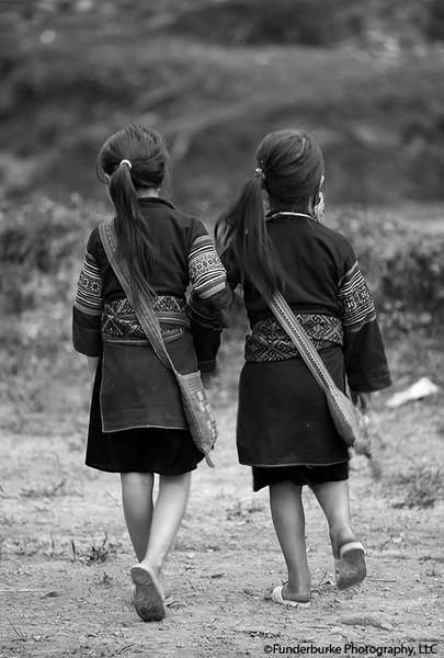H'Mong Girls - Sa Pa