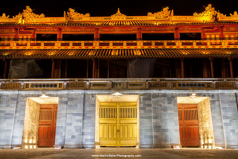 Forbidden City, Hue, Vietnam.
