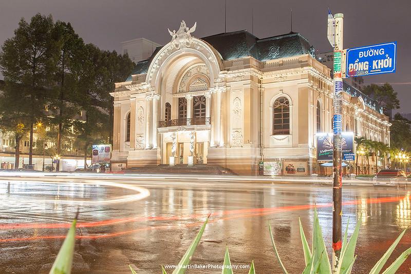 Opera House, Ho Chi Minh City (Saigon), Vietnam.