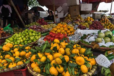 Fruit market in Hanoi