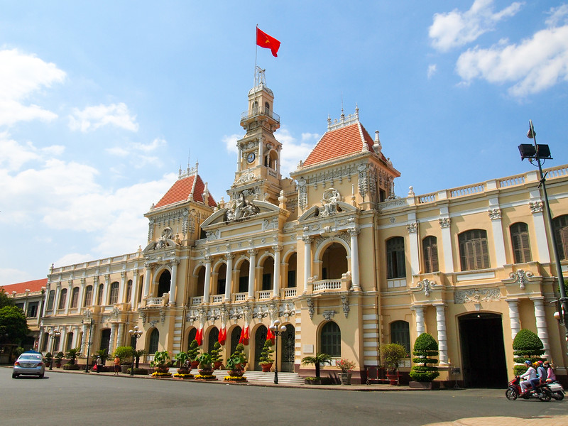 Image result for ho chi minh city hall