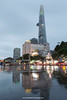 Bitexco Financial Tower, Nguyen Hue, Ho Chi Minh City (Saigon), Vietnam.