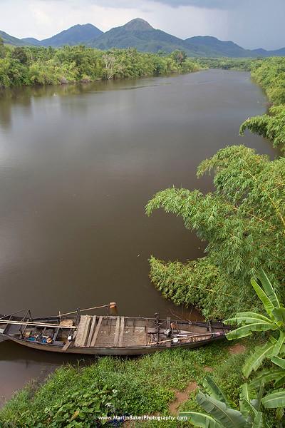 Perfume River, Hue, Vietnam.