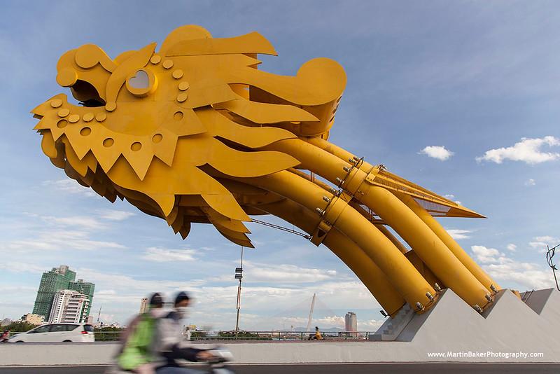 Dragon Bridge, Da Nang, Vietnam.