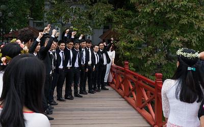 Graduates from Hanoi