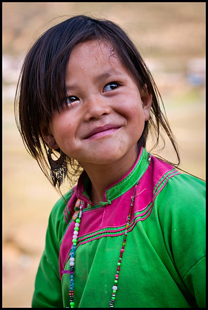 Girl near Ta Phin, Sapa