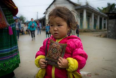 Local girl in Sapa