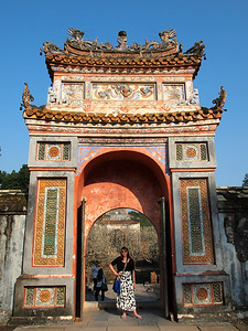 Tu Duc Tombs in Hue, Vietnam