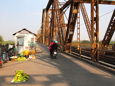 Bridge in Hanoi, Vietnam