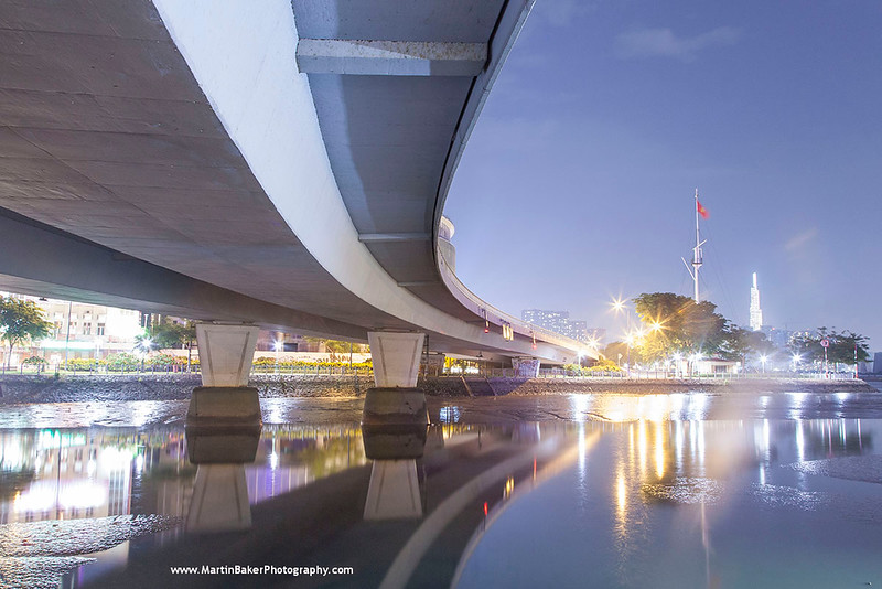Ben Nghe Channel, Ho Chi Minh City (Saigon), Vietnam.
