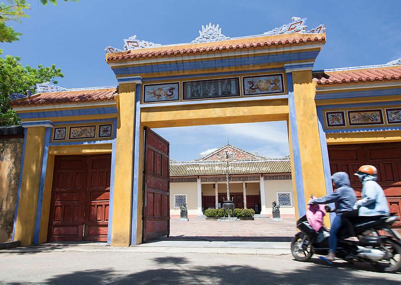 Forbidden City, Hue, Vietnam.