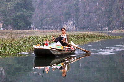 Ngo Dong River, Tam Cuoc, Ninh Binh (photo by Kim)