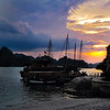 Ha Long Bay Cruise Sunset