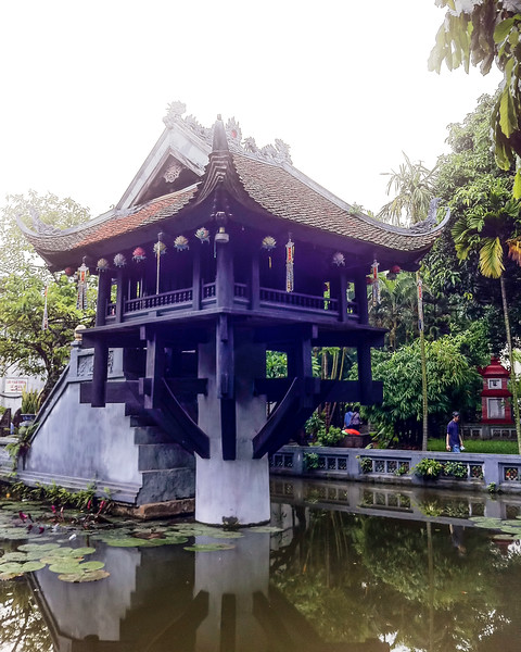 Hanoi Pagoda de Pilar Unico