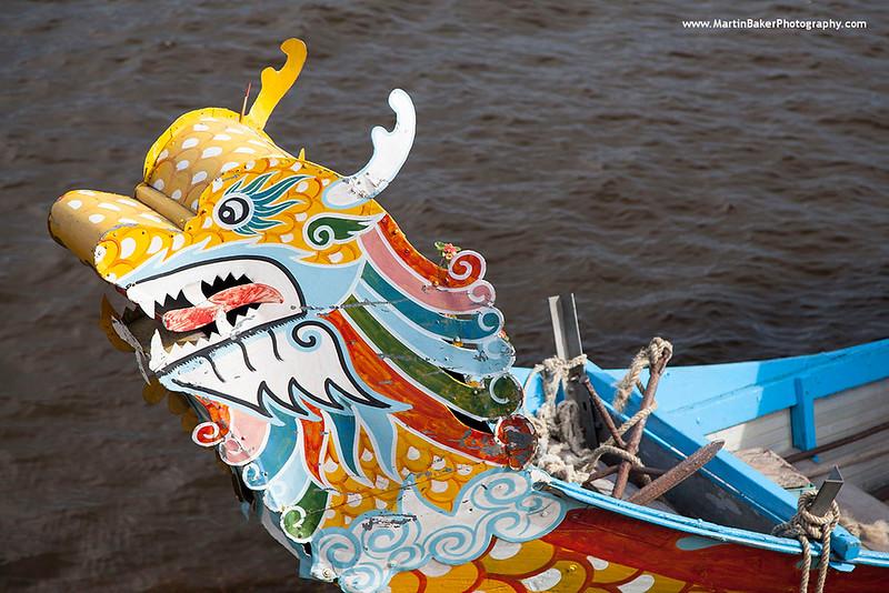 Perfume River, Hue Vietnam.
