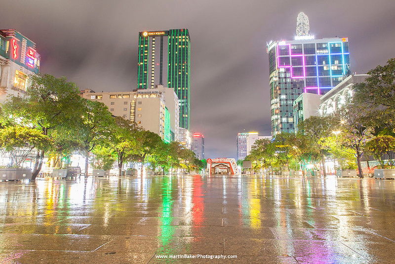 Nguyen Hue, Ho Chi Minh City (Saigon), Vietnam.