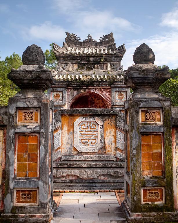 tu duc tomb in hue vietnam
