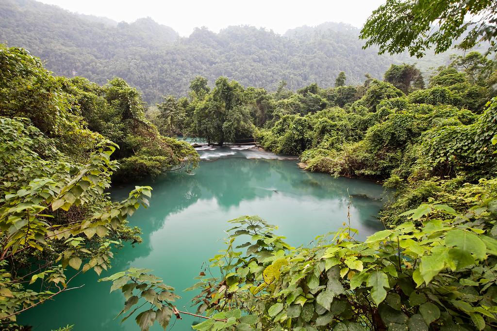 Blue Pool, Phong Nha, Vietnam